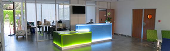 Réalisation d'un desk pour une entreprise