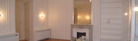 Rénovation d'un appartement en plein de cœur de Paris